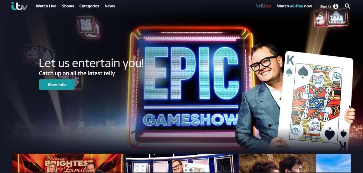 Hoe kan ik de ITV-speler buiten het Verenigd Koninkrijk bekijken?